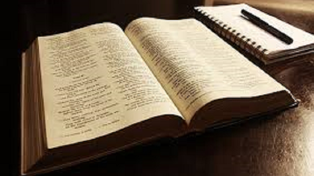 ESTUDIO BIBLICO: ESTUDIAR LAS ESCRITURAS, PORQUE EN ELLA ESTÁ TODA LA VERDAD